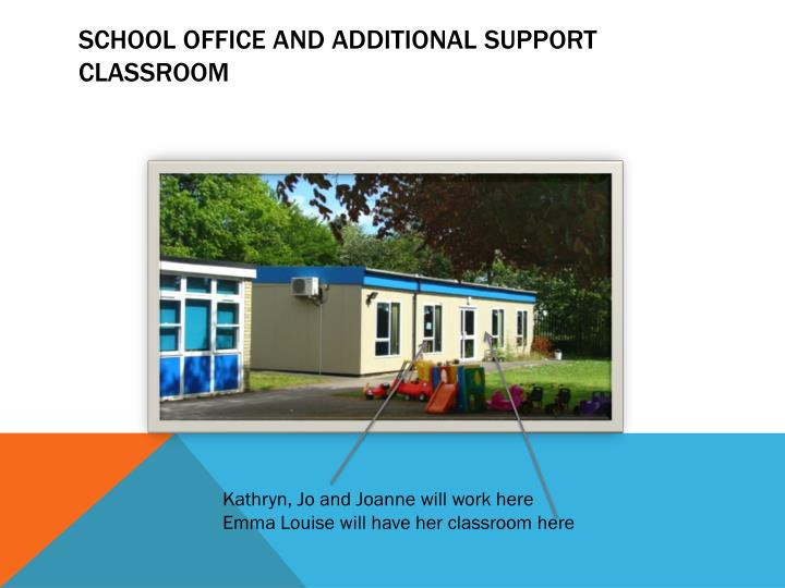 School office and additional support
