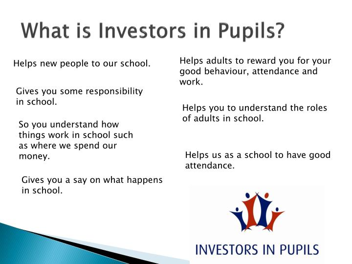 What is Investors in Pupils?