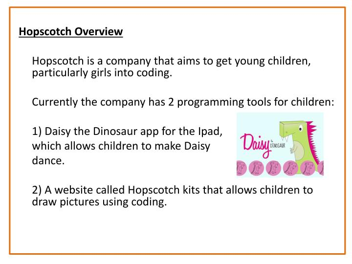 Hopscotch Overview