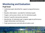 monitoring and evaluation1