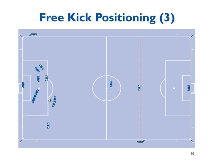 Free Kick Positioning (3)