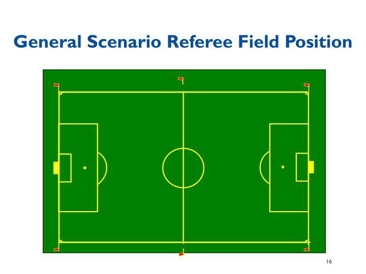 General Scenario Referee Field Position