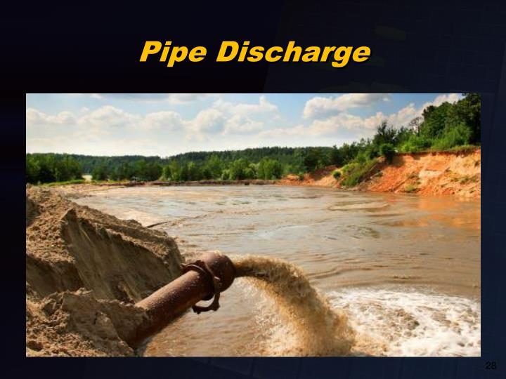 Pipe Discharge