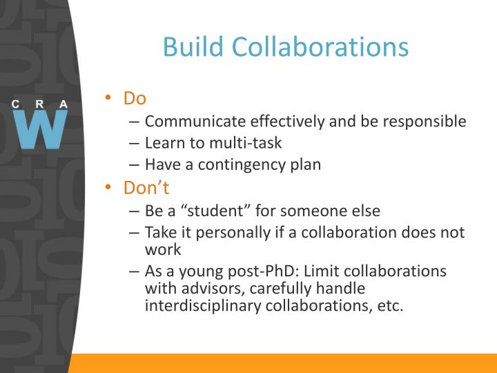 Build Collaborations