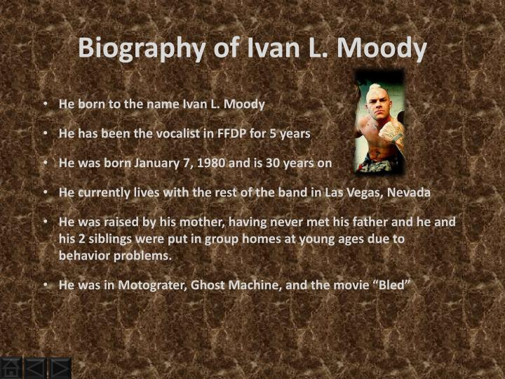 Biography of Ivan L. Moody
