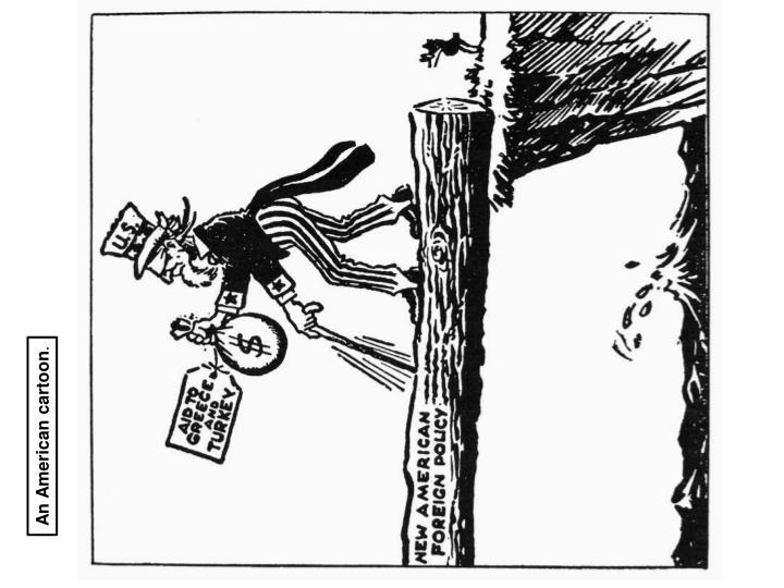 An American cartoon