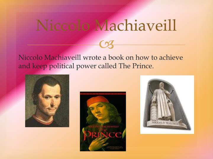 Niccolo Machiaveill
