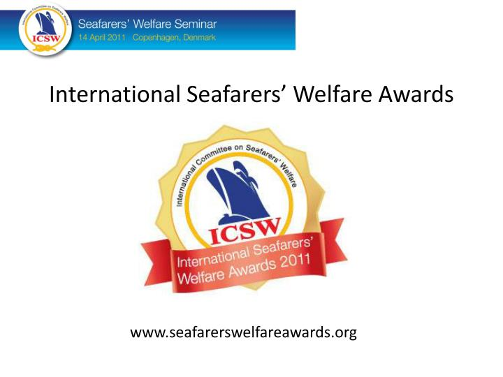 International Seafarers' Welfare Awards