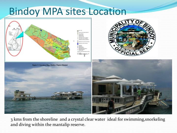 Bindoy mpa sites location