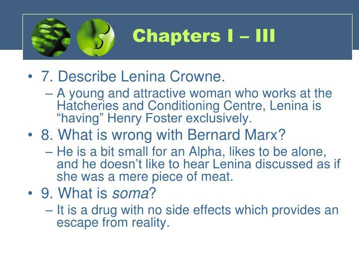 Chapters I – III