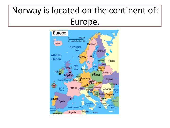 Norway is located on the continent of: