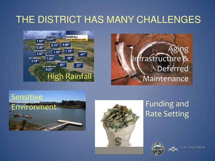 The district has many challenges