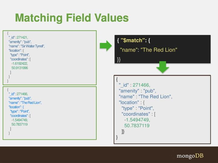 Matching Field Values