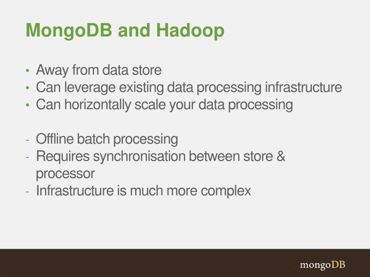 MongoDB and