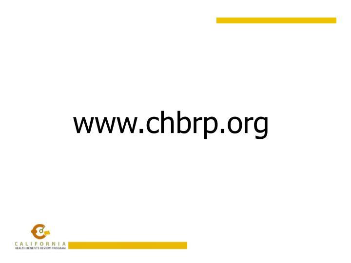 www.chbrp.org