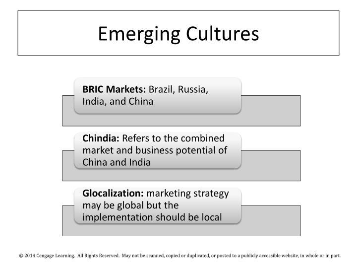 Emerging Cultures
