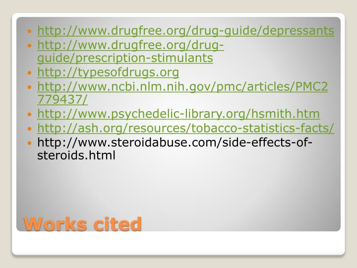 http://www.drugfree.org/drug-guide/depressants
