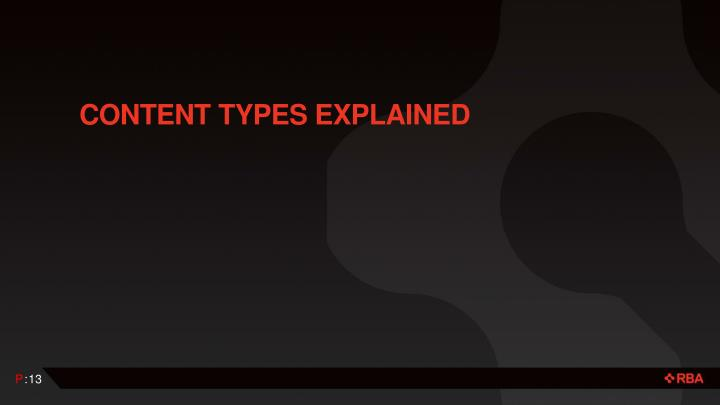 Content Types Explained