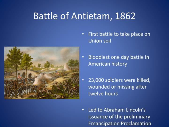 Battle of Antietam, 1862
