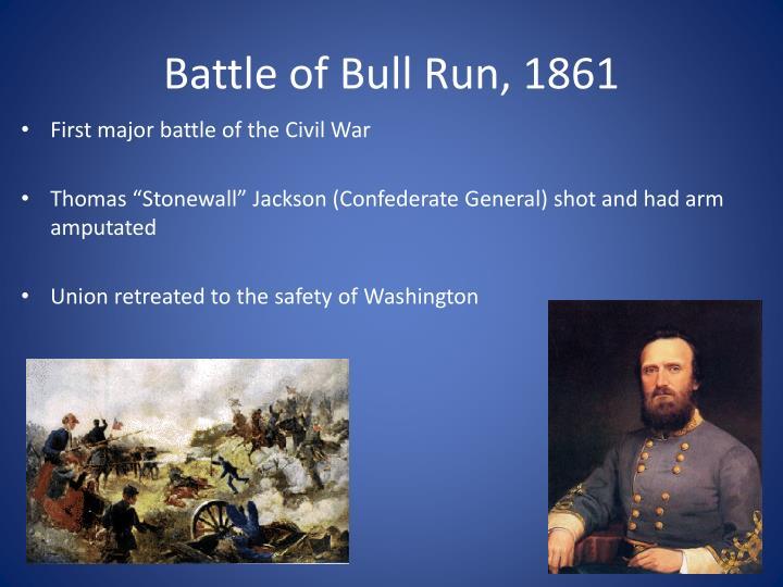 Battle of Bull Run, 1861