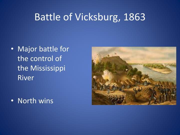 Battle of Vicksburg, 1863