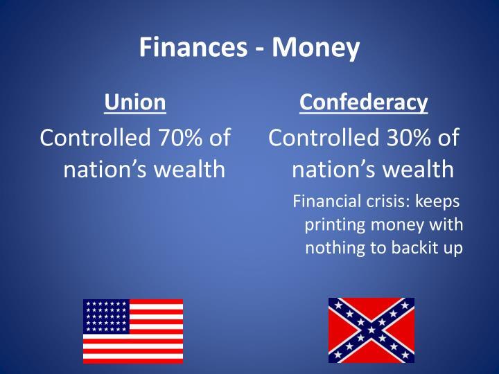 Finances - Money