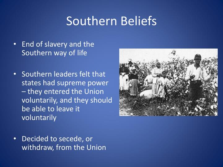 Southern Beliefs