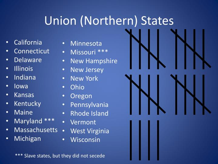 Union (Northern) States
