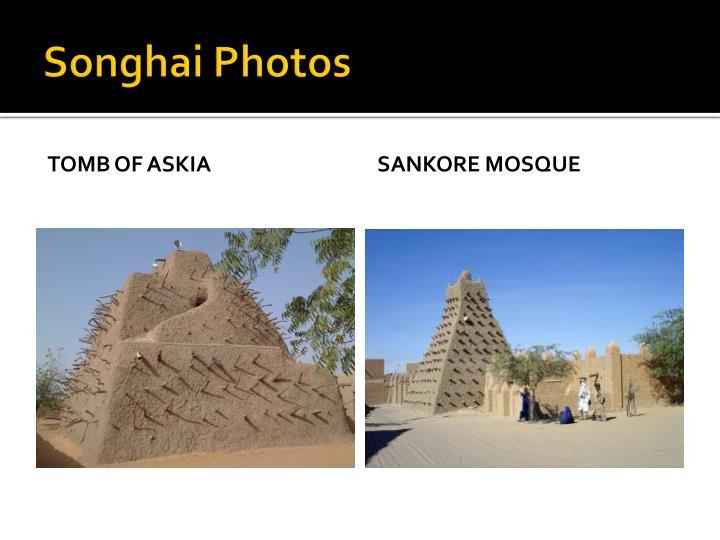 Songhai Photos