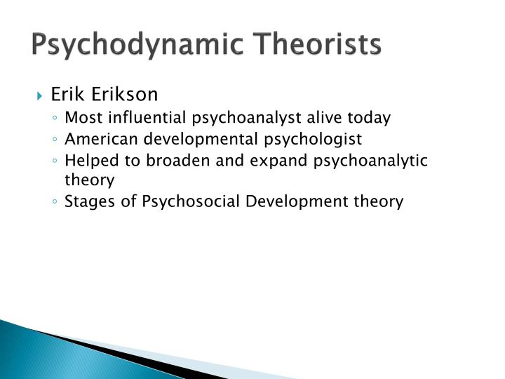 Psychodynamic Theorists