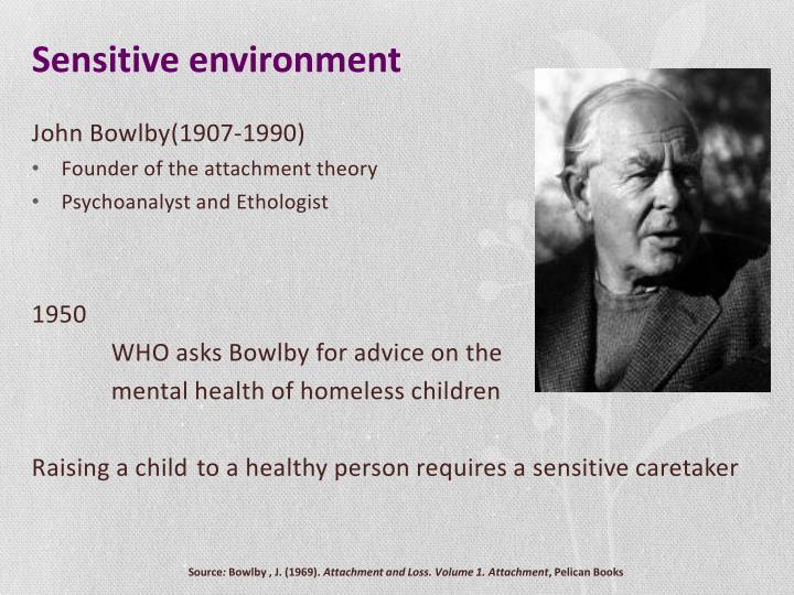 Sensitive environment