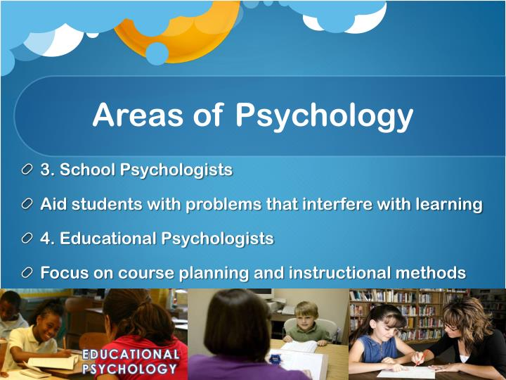 Areas of Psychology