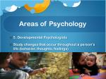 areas of psychology3