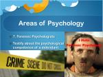 areas of psychology5