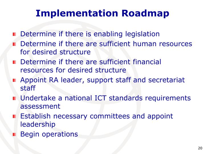 Implementation Roadmap