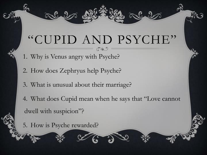"""""""Cupid and psyche"""""""