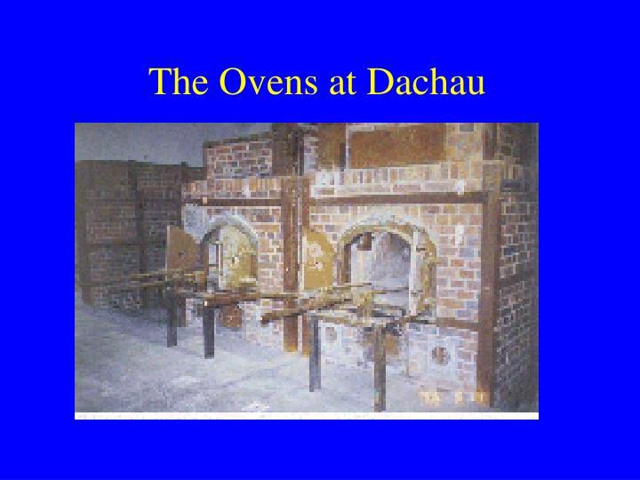 The Ovens at Dachau