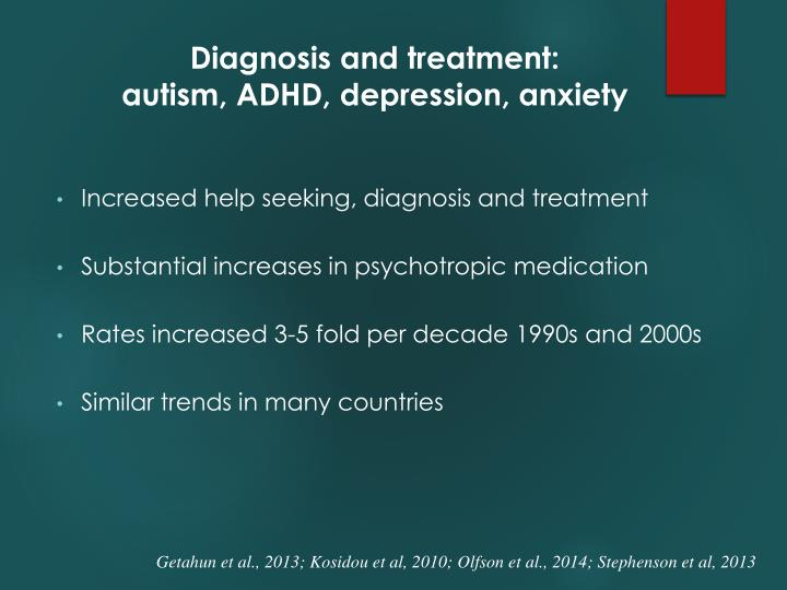 Diagnosis and treatment: