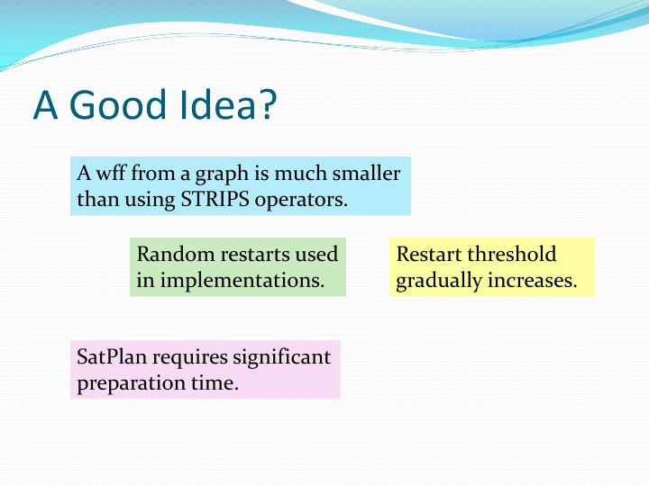 A Good Idea?