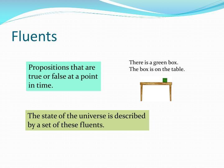 Fluents