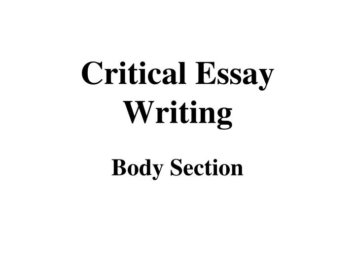 the wars critical essay