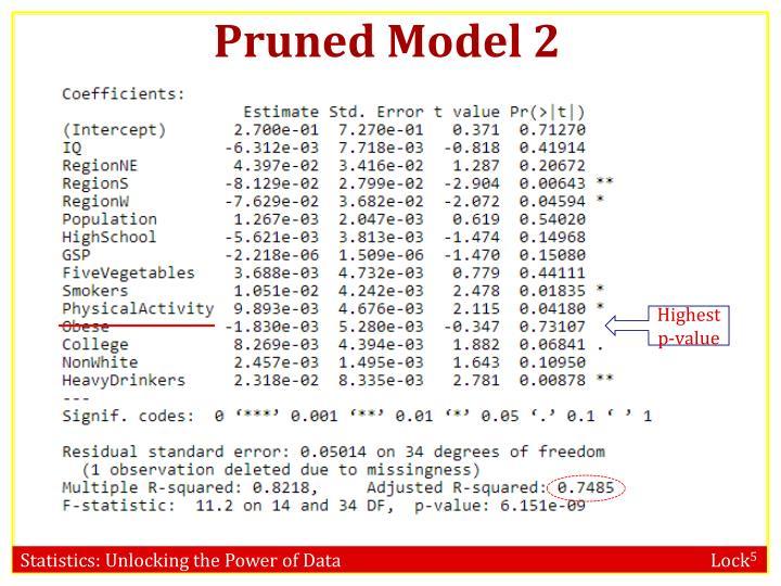 Pruned Model 2