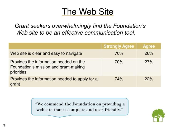 The Web Site