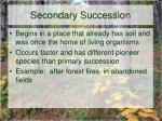 secondary succession1