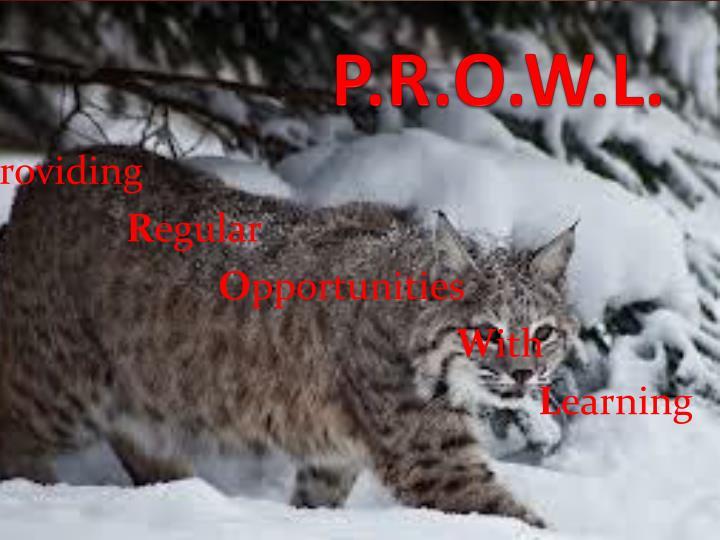 P.R.O.W.L.