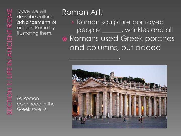 Roman Art: