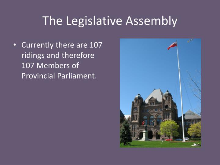 The Legislative Assembly
