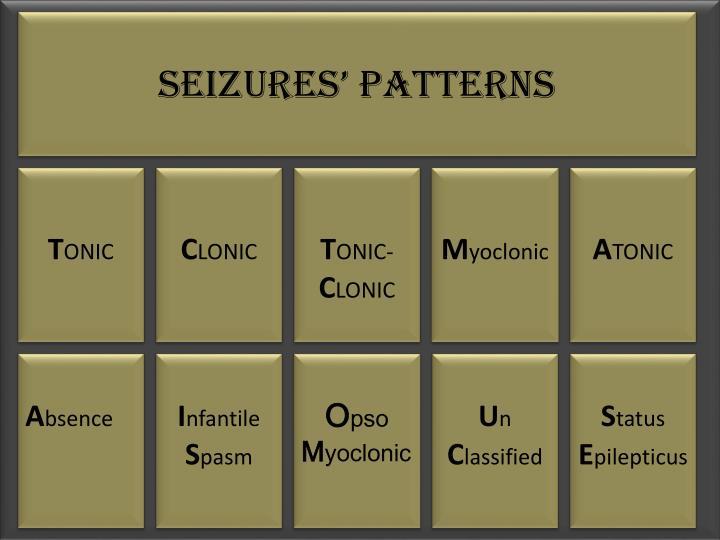 Seizures' Patterns