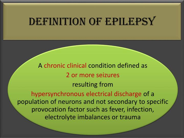 definition of epilepsy