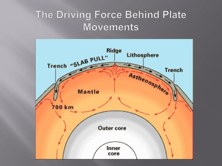 The Driving Force Behind Plate Movements